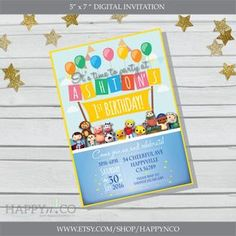 DIGITAL Little Baby Bum Invitation Little Baby Bum Party