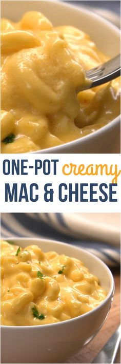 Our easy, cheesy, stovetop macaroni & cheese recipe satisfies all the cravings. Have homemade mac & cheese in 25 minutes -- with no boxes and just one pot.