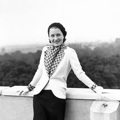Norma Shearer on the roof of the Dorchester Hotel, London, on July 8th, 1931.