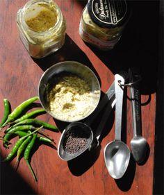 Bong Mom's CookBook: Aam Kashundi -- the Bengali Mustard Sauce