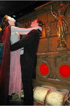 Christmas in New York: Bloomingdale's Holiday Windows 2004   ~   The Phantom of the Opera  Phantom of the Opera stars Gerard Butler as the Phantom and Emmy Rossum as Christine.