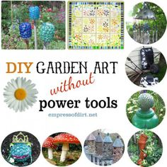 1000 images about yard art garden junk on pinterest for Upcycled garden projects from junk