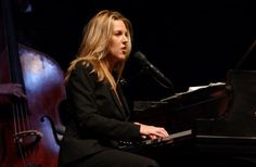 Diana Krall performs during the 'Look of Love Tour' at Radio City Music Hall in New York City Photo by Frank Micelotta/ImageDirect Looking For Love, My Love, Diana Krall, Radio City Music Hall, Jazz Club, Miles Davis, Album Covers, Rock And Roll, Superstar