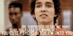 Misfits // Nathan Young // Robert Sheehan