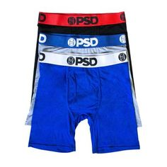 Affordable and comfortable designer men's boxer briefs from PSD Underwear. Shop our men's boxer brief collection for the latest styles. Men's Boxer Briefs, Men's Briefs, Wicked Clothing, Boys Boxers, Boys Underwear, Dapper Men, Compression Shorts, Mens Clothing Styles, Heather Gray