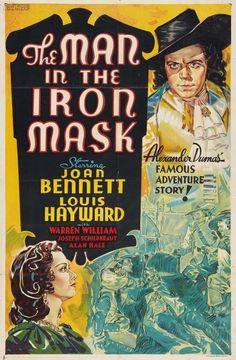 The Man In the Iron Mask (1939) Louis Hayward, Joan Bennett, Warren William, Alan Hale