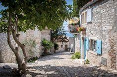 Cobblestones in Rovinj in Croatia's Istria region Seaside Resort, Seaside Towns, Roadtrip, World's Biggest, Places To Visit, Beautiful, Europe, Places, Bathing