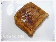 Torrijas Light al microondas (Valor nutricional)   Cals: 149kcal | Grasa: 3,38g | Carbh: 18,76g | Prot: 9,90 g    Esta receta la he tun...