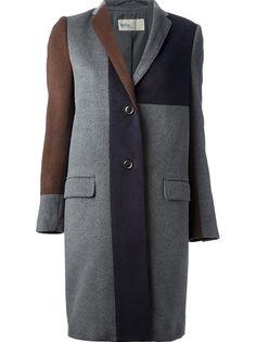 KOLOR Tri-Colour Coat Acne