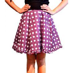Falda Paraguas Violeta 25.50€ Waist Skirt, Midi Skirt, High Waisted Skirt, Skirts, Fashion, Umbrellas, Moda, Midi Skirts, Skirt