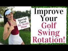 How To Improve Your Golf Swing Rotation - Golf Fitness Tips - YouTube