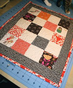 MINIATURE QUILT SEW ALONG