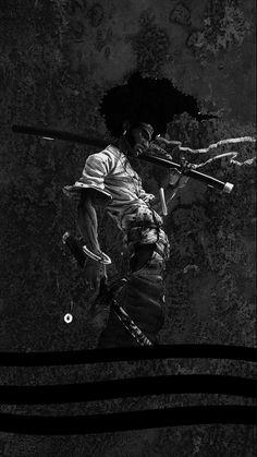 Afro Samarai background