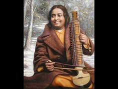 """Paramahansa Yogananda was an Indian saint and yogi who introduced the ancient teachings of Kriya Yoga to the world. He is often regarded as """"the Father of Yoga in the West. Religions Du Monde, Les Religions, Krishna, Mahavatar Babaji, Indian Saints, Autobiography Of A Yogi, Bengali Song, Yoga Master, States Of Consciousness"""