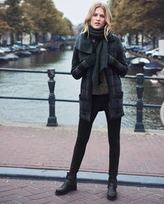 Wrap London - Clemence knitted coat