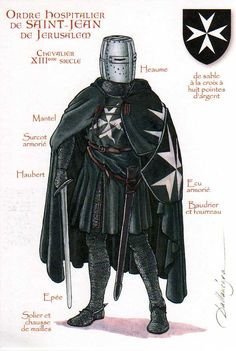 Knights Hospitaller, 13th century | Flickr - Photo Sharing!