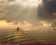 boat trip to the sky