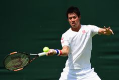 Kei Nishikori Photos - Previews: The Championships - Wimbledon 2015 - Zimbio