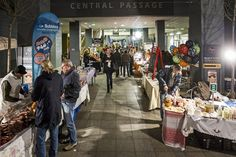 Central Passage Market on Thursdays from 1pm till 9pm. Right in the middle of the party/ruin-pubs district, in Kiraly utca this organic, handmade food, goods, etc market is a great place to grab some street food or stock up your fridge with local, fresh delights.
