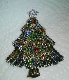 Image detail for -AVON-CHRISTMAS-TREE-PIN-BROOCH-2008-FIFTH-ANNUAL-PIN-ENAMEL ...