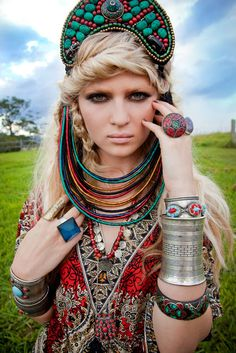 For more ethnic inspired fashion and globally inspired style visit www.wandering-threads.com