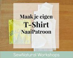 25084ef8dce9db Kopieer je t-shirt en maak er een nieuw naaipatroon van - Maak je eigen