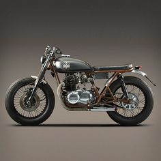 Kawasaki KZ400 custom motorcycle