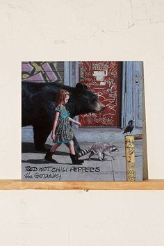 Slide View: 1: Red Hot Chili Peppers - The Getaway LP
