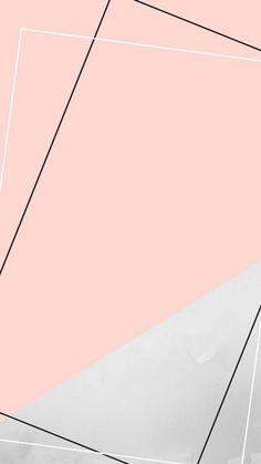 Geometric Wallpaper Iphone, Rose Gold Wallpaper, Plain Wallpaper, Cute Pastel Wallpaper, Framed Wallpaper, Phone Screen Wallpaper, Graphic Wallpaper, Pink Wallpaper Iphone, Wallpaper Samsung