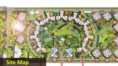 Logix Blossoms Greens is 25 acres greens area a new residential project in sec 143 Noida.