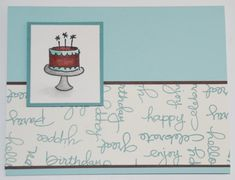 Endless Cake Endless Birthday by stampinrachel - Cards and Paper Crafts at Splitcoaststampers