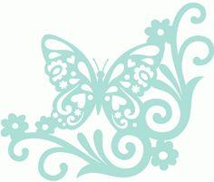 Hippie corner butterfly
