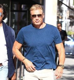 Dolph Lundgren Goes Out With a