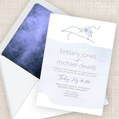 """Write It Out Loud's Instagram profile post: """"Move over cancer, it's time for LEO season! Celestial invitations to match your zodiac sign.  #writeitoutloud #weddinginvitations…"""" Leo Season, Under The Stars, Out Loud, Got Married, Zodiac Signs, Wedding Invitations, Cancer, Reception, Profile"""