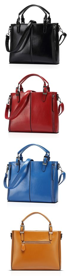 Women's Leather PU Handbags Shoulder Bags Messenger Bag 2017 Female Tote Bagail.com