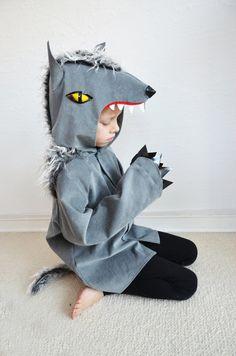 Wolf werewolf dog kids costume by maiiberlin on Etsy, €72.90