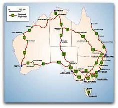 Travelling around Australia ... Just need to do the bit from Adelaide to Perth then up to Darwin. Done the rest several times.