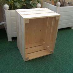 Kiste selber bauen vorn