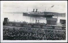 Krysseren Berlin. Stemplet Trondhjem 1918 «Berlin» (senere kjent som «Arabic») var et tysk passasjerskip og senere hjelpekrysser. Skipet hadde et deplasement på 17 000 tonn og en besetning på 450 mann.  «Berlin» ble bygget i Bremen i 1909 ved verftet AG Weser og ble tatt i bruk av rederiet Norddeutscher Lloyd i linjetrafikk mellom New York og Middelhavet.  Ved utbruddet av første verdenskrig ble skipet beslaglagt av Den tyske keiserlige flåte og gjort om til hjelpekrysser. Etter å ha lagt…