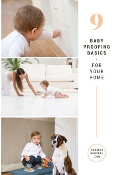 9 Baby Proofing Ideas - get your home ready for baby!