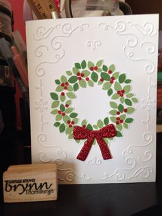 Wonderful Wreath, Stampin Up, createwithbrynn.stampinup.net
