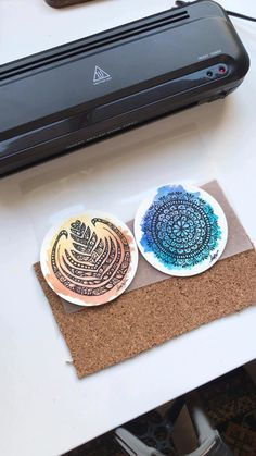 Diy Crafts Hacks, Diy Crafts For Gifts, Diy Arts And Crafts, Watercolor Mandala, Watercolor Bookmarks, Cool Paper Crafts, Paper Crafts Origami, Doodle Art Drawing, Cool Art Drawings