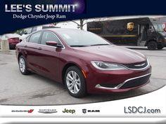 2016 Chrysler 200 Limited Limited  Sedan