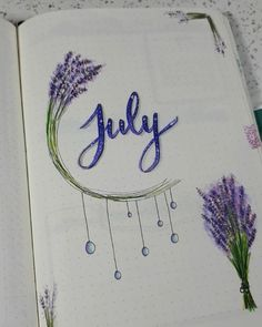 Summer is here and it's time to start thinking about July Bullet Journal themes. And setting up a new journal if your last one is running out of pages!