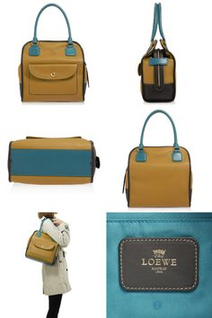 Brown matches blue | I want this!