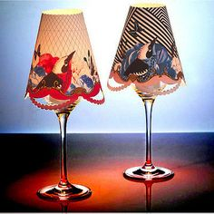 8 bird & #floral lampshade / dinner wedding #party table tea light cover #accesso,  View more on the LINK: http://www.zeppy.io/product/gb/2/371745863957/