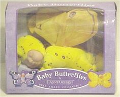 Anne Geddes Yellow Baby Butterfly (10)