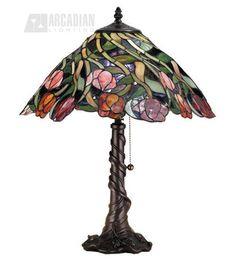 tiffany lamp - love the base too