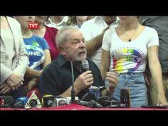 ex Presidente Lula faz Pronunciamento após depor na PF - 04/03/2016 - YouTube. Por José Jakson Cardoso
