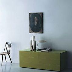 Comò a 6 cassetti Boxes - design Piero Lissoni - Porro
